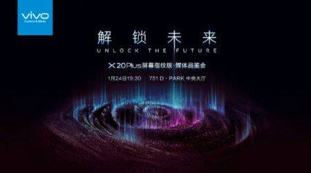 Vivo X20 Plus Under Display variant to launch on January 24