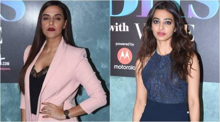 From embellished shoes to long coats: Neha Dhupia, Radhika Apte have interesting style tips up their sleeves