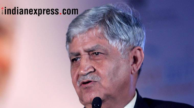 vp malik, ved prakash malik, ex army general, former army chief, book launch, maimed by the system book, indian express