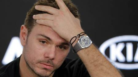Open 13: Stan Wawrinka hobbles out of 2nd round as knee flaresup