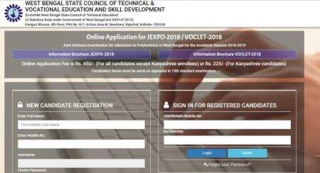 West Bengal JEXPO, VOCLET 2018: Eligibility, important date and registrationdetails