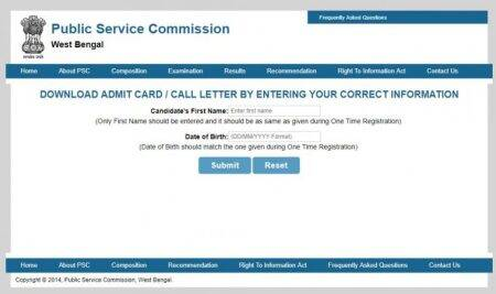 WBCS Prelims 2018: Admit card released at pscwbonline.gov.in, steps to download