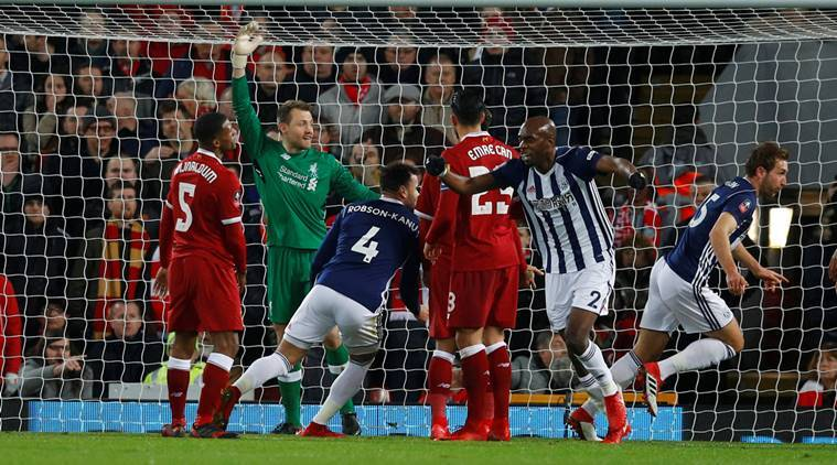 Liverpool have been knocked out of the FA Cup by West Brom