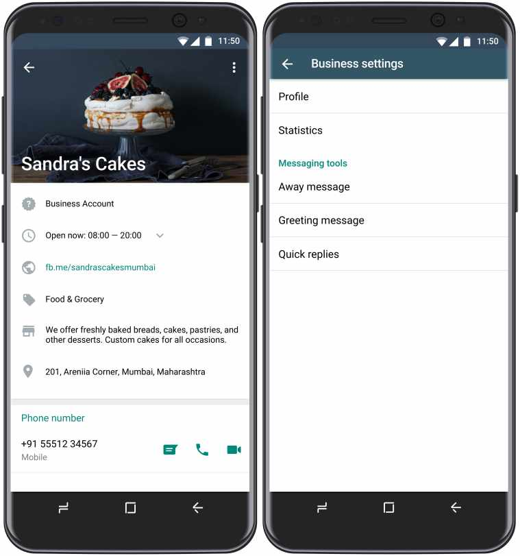 WhatsApp Business App is now Available For Free For Small Business