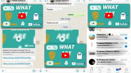 WhatsApp rolls out YouTube integration for iOS, come with PiP feature