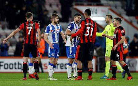 FA Cup: Wigan Athletic denied by late Bournemouth goal