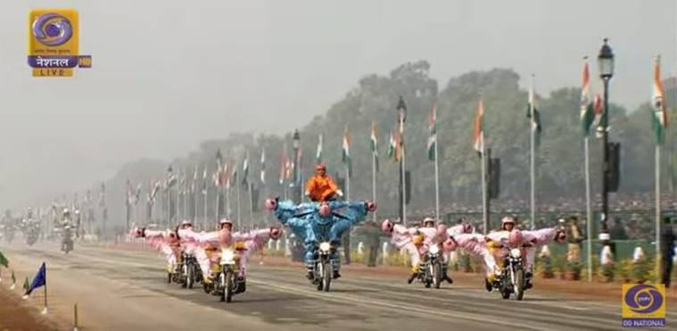 Republic Day 2018, Republic Day 2018 live updates, Republic Day, Narendra Modi, ASEAN, Republic Day parade, Indian Express