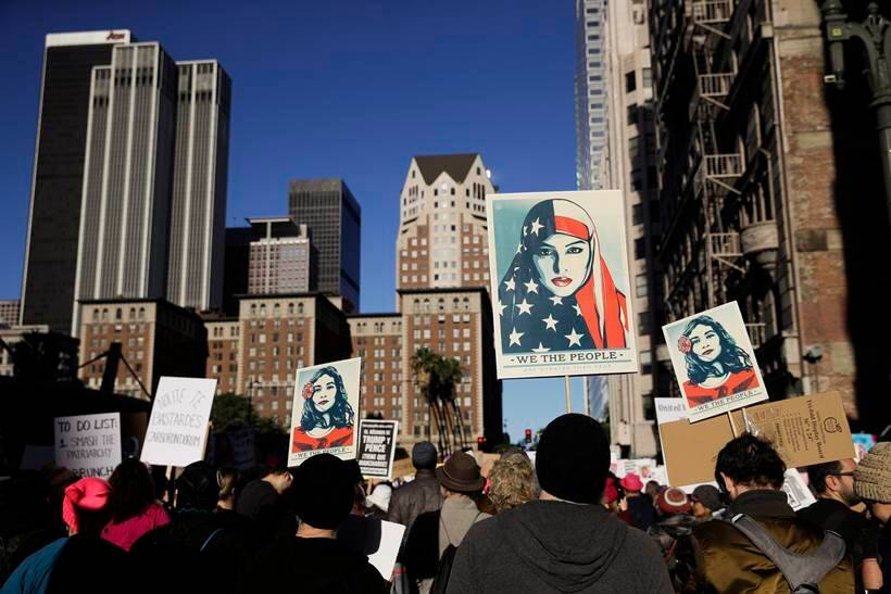 Women's March Draws Tens of Thousands