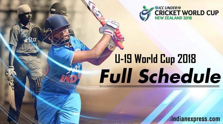 icc u-19 world cup schedule