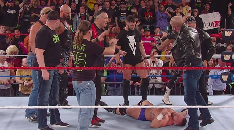 D-Generation X and the Balor Club on WWE Raw