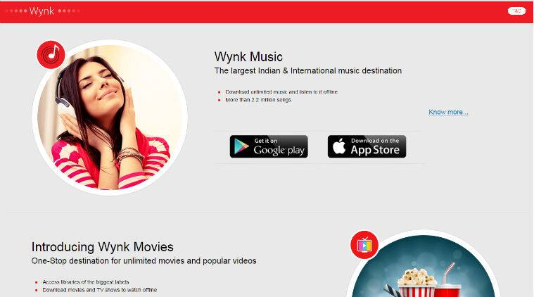 Airtel Wynk Music, Wynk Music subscribers, over-the-top music services, Saavn, music streaming apps, Gaana, Spotify, Bollywood music, Apple Music, regional content
