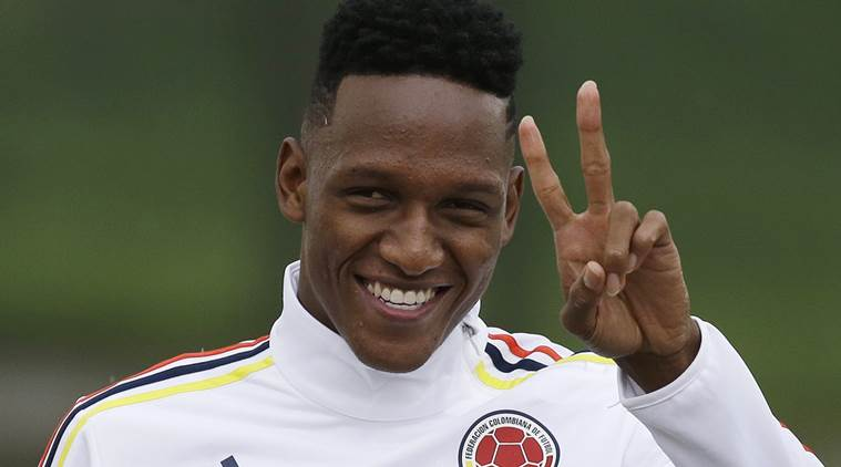 Barcelona Sign Yerry Mina from Palmeiras in €11.8M Deal Until 2023