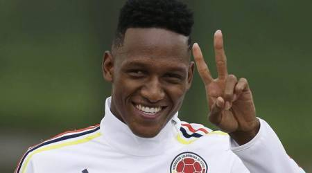 Barcelona sign Colombia defender Yerry Mina