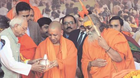 Magh Mela: Among seers, Yogi Adityanath steers clear of temple issue