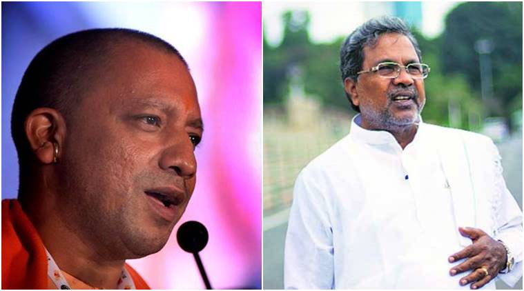 Yogi Vs Siddaramaiah in election season: Cows, cycles and crime