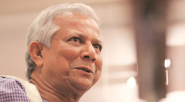 Grameen Bank, Muhammad Yunus, Muhammad Yunus noble prize, Grameen Bank profit, Muhammad Yunus interview, Muhammad Yunus book, indian express