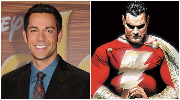 'Shazam' set for 2019, Zachary Levi calls it 'Superman meets Big'