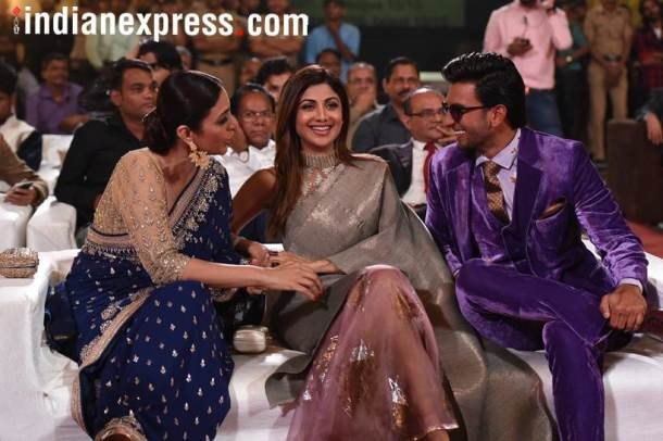 Shilpa Shetty and Tabu ranveer singh