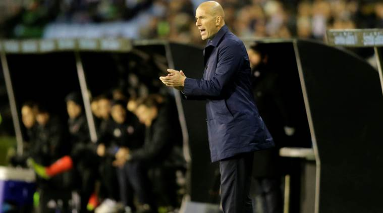 Zinedine Zidane is Real Madrid's manager.