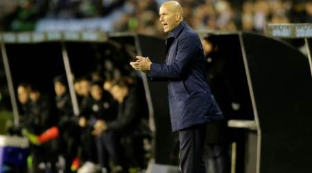 Real Madrid manager Zinedine Zidane named as French coach of theyear