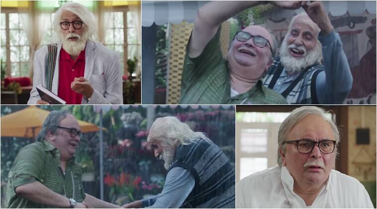 amitabh bachchan and rishi kapoor in 102 not out teaser