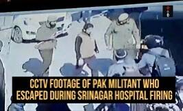 Police Release CCTV Footage Of Pak Militant Who Escaped During Srinagar Hospital Firing