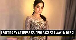 Sridevi Passes Away At 54 After A Cardiac Arrest In Dubai
