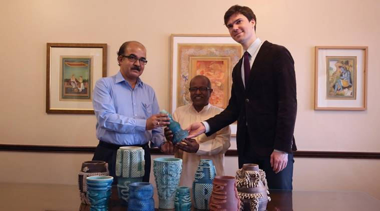 3D-printed vases, Google Arts and Culture, indian express, indian express news