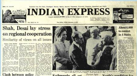 February 3, 1978, Forty Years Ago: Hand For Congress(I)