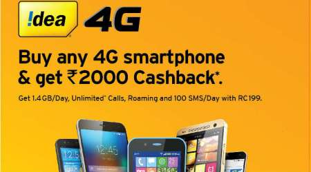 Idea, Idea cashback offer, Reliance Jio football offer, Idea 2000 cashback, Idea Rs 2000 cashback 4G mobiles, Idea cashback on 4G phones, Idea cashback offer how to get
