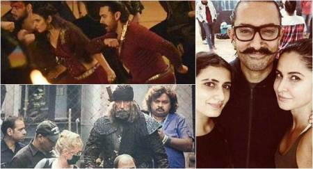 Thugs of Hindostan: Fatima Sana Shaikh's eyebrows to Aamir-Katrina's dance, here are all the leaked stills