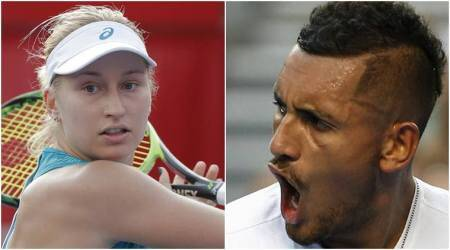 Nick Kyrgios slams double standards after Daria Gavrilova almost hit ball boy withracket