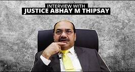 Interview With Justice Abhay M Thipsay
