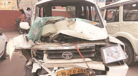 Father, son killed as car rams into speeding SUV at Delhi's Jaitpur area