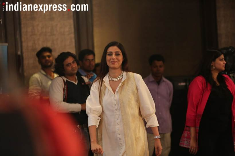 Bollywood Actress Tabu in Express Adda