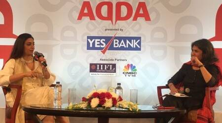 Bollywood actor Tabu at Express Adda: WATCH LIVE