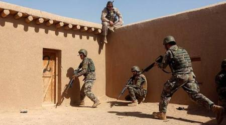 US forces in Afghanistan attack anti-Chinamilitants
