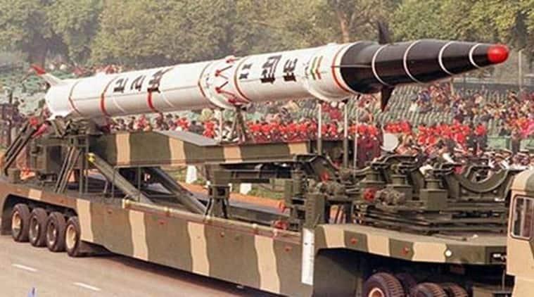 Agni II, Agni 2, Agni II test fired, India test fires Agni II, Agni-II missile, DRDO, India's surface to surface missile, indian missile, Indian missile test, India news, indian express news