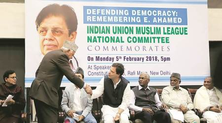 E Ahamed death anniversary, Muslim League veteran, Opposition leaders, BJP government, India news, indian express news