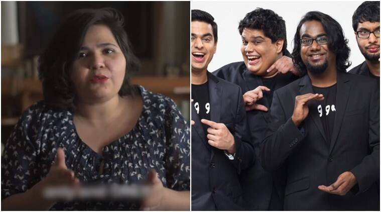AIB, aib videos, AIB's portrayal of women characters, AIB and female characters, Aayushi and Sumedh's video on AIB, Aayushi and Sumedh video, female comedians in India, female comedians in India, Indian Express, Indian Express News