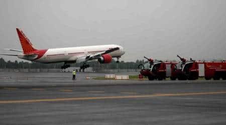 mumbai airport, airport runway closed, mumbai flights delayed, indian express