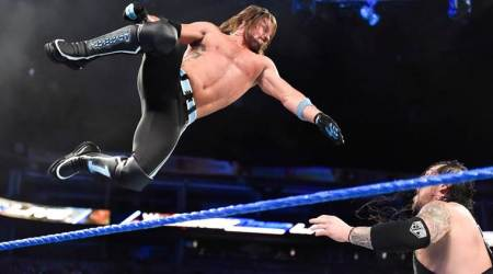 WWE Smackdown LIVE results: Baron Corbin demolishes Kevin Owens, Sami Zayn after losing to AJ Styles