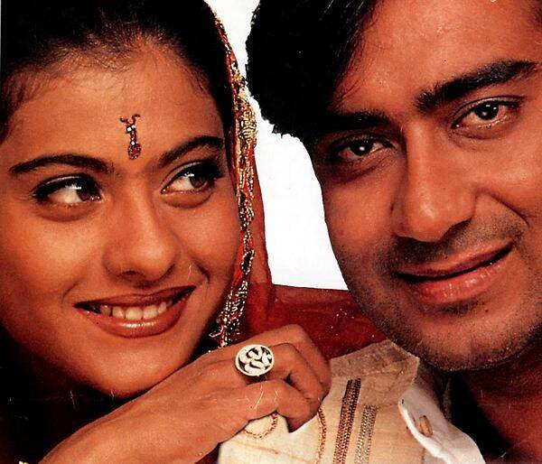It was not 'love at first sight' for Ajay Devgn and Kajol