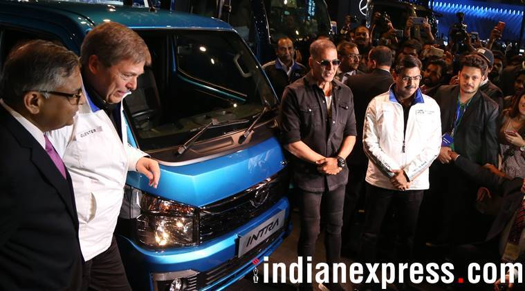 Akshay Kumar at Auto Expo 2018