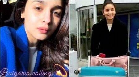 Alia Bhatt is feeling the snow in Bulgaria, gears up for Brahmastra shoot with Ranbir Kapoor