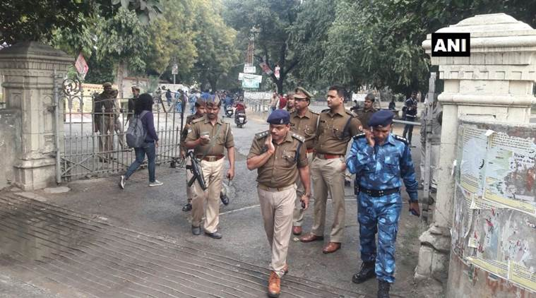 RAF sent deployed at Allahabad University to ensure law and order