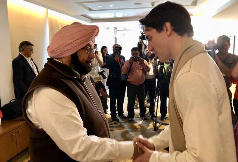List of Canadian operatives handed by Punjab CM to Justin Trudeau