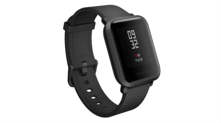 Amazfit Bip with heart rate sensor, Always-on display