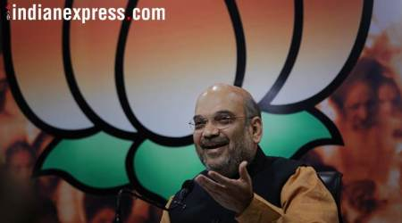 Amit Shah hits out at Congress over allegations against Amarinder Singh's son-in-law