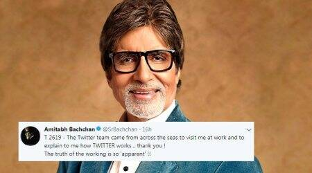 Amitabh Bachchan meets Twitter team, says their working is so 'apparent' now